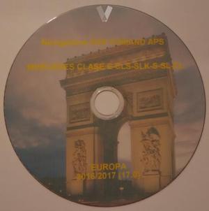 Dvd Mercedes NTG1 Europa
