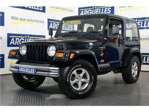 Jeep Wrangler 4.0 Aut Sahara Edition Techo Duro