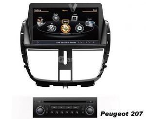 Radio Gps, Dvd, Usb Para Peugeot 207