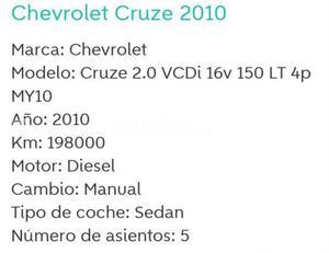 Chevrolet Cruze 2.0 Vcdi 16v Lt 4p. -10