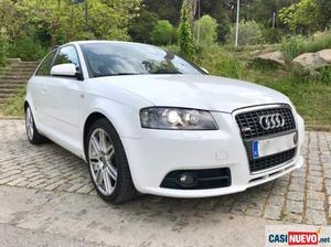 Audi a3 2.0 tdi 140cv. quattro s-line. super cuidado.