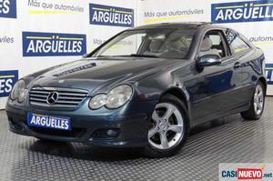 Mercedes-benz c 220 cdi sportcoupe techo panorámico 150cv