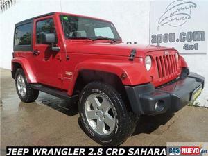 Jeep wrangler 2.8crd sahara '11