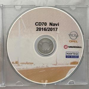 mapas  GPS Opel CD70 DVD90 Navi