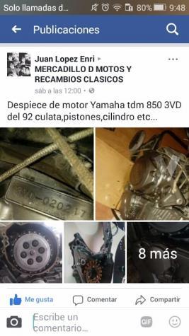 Yamaha Tdm 850