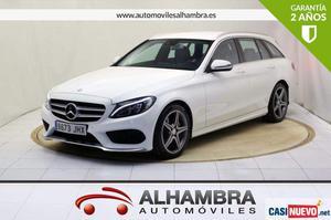Mercedes-benz c 220 clase c estate 220 d amg line