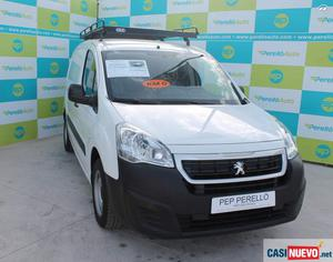 Peugeot partner 1.6blue hdi 100cv confort l1 furgon - manos