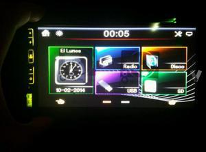 """Radio 2DIN 6,95"""" BT/DVD/MP4 """"NUEVO"""""""