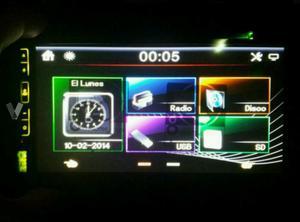 """Radio 2DIN 6,95"""" BT/DVD/MP4 NUEVO"""