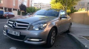 Mercedes-benz Clase C C 220 Cdi Be Blue Efficiency Ed. Coupe