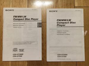 Radio CD Sony XPlod