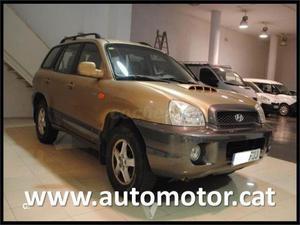 Hyundai Santa Fe 2.0 Crdi Gls 5p. -01