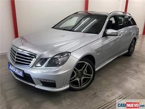 Mercedes-benz e 63 amg estate nacional 525cv de segunda mano