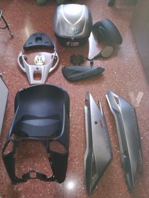 Accesorios Scooter Kymco modelo Agility City 125 c