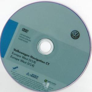 DVD VW RNS- (V14)