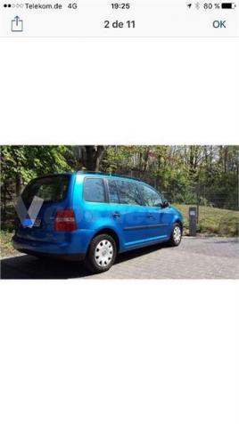 Volkswagen Touran 1.9 Tdi Dsg Trendline 5p. -04