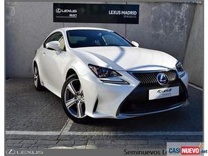 Lexus rc 300h 2.5 executive '17 de segunda mano