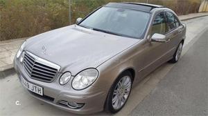 Mercedes-benz Clase E E 320 Cdi Avantgarde Auto 4p. -08