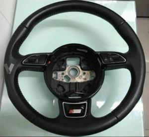 volante audi s line perforado