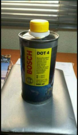 Líquido frenos Bosch