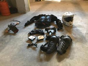equipacion enduro-motocross