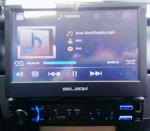 "Autoradio pantalla Tactil 7"""