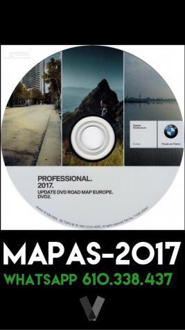 dvd Bmw Profesional  con radares Road Map