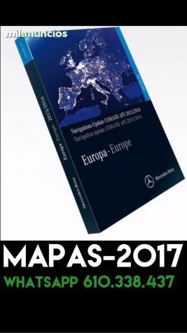 dvd GPS Mercedes  Comand Ntg2 version 18
