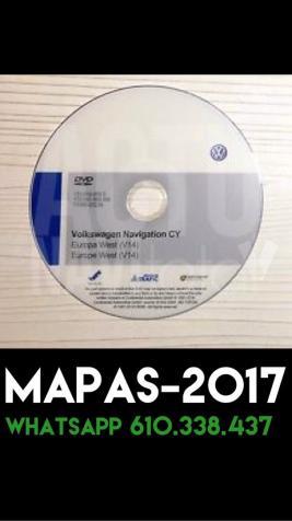 dvd GPS Rns 510 v con radares VW Skoda Seat