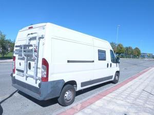 furgoneta preparada para camping