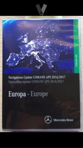 mapas  GPS Mercedes Comand Ntg1 Aps Europe