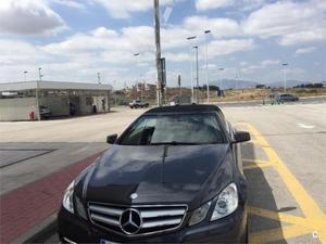 Mercedes-benz Clase E Cabrio E 220 Cdi Be Avantgarde 2p. -12