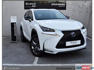 Lexus h f sport 4wd + navibox '17 de segunda mano