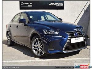 Lexus is 300h h executive '17 de segunda mano