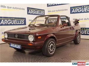 Volkswagen golf cabriolet '83 de segunda mano