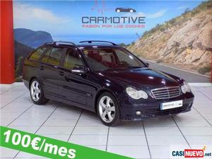 Mercedes c 200 familiar cdi classic '05 de segunda mano