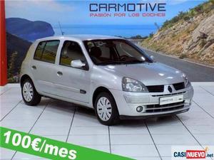 Renault clio 1.2 authentique eco2 '06 de segunda mano