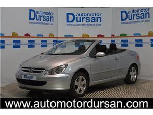 Peugeot  Cc 2.0i Cabrio Coupe Llantas Sens. Par