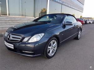 Mercedes-benz Clase E Cabrio E 220 Cdi Be Avantgarde 2p. -13
