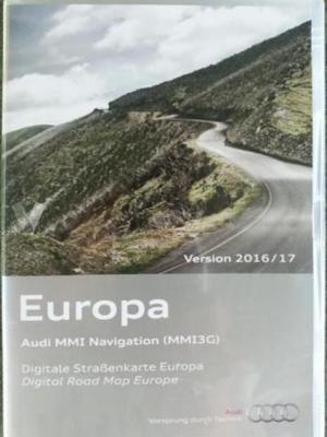 DVD NAVEGACION AUDI MMI 3G-2G MAPAS