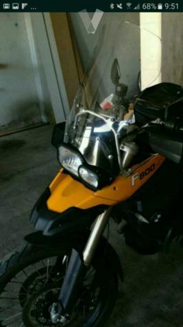 Pantalla moto BMW