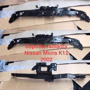 Frontal y parachoques del Nissan micra