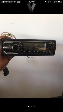 autorradio Sony cd, mp3, usb, Apple