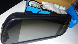 Espejo visor camara trasera coche