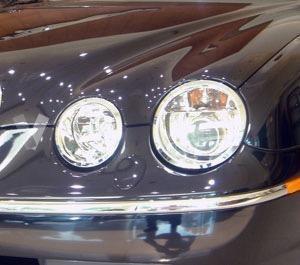 Moldura Cromada paragolpes Jaguar S-Type