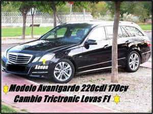 Mercedes-benz Clase E E 220 Cdi Be Avantgarde Estate 5p. -12