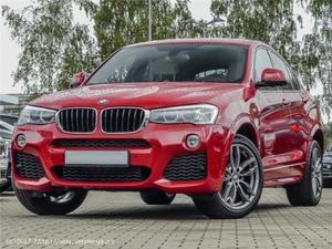 BMW X4 XDRIVE 20DA, PAQUETE M, XENON, CáMARA, TECHO, HIFI -