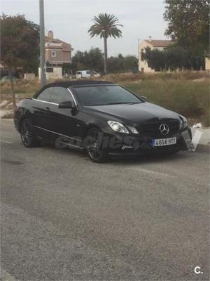 Mercedes-benz Clase E Cabrio E 350 Cdi Be Avantgarde 2p. -11