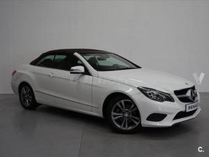 Mercedes-benz Clase E Cabrio E 220 Cdi Blue Be Elegance 2p.