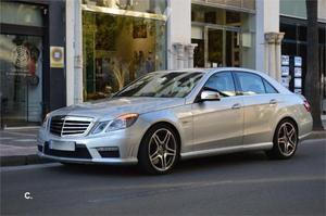 Mercedes-benz Clase E E 63 Amg Auto 4p. -10